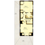 Haigis 3 Second Floor Plan (Option 1)