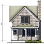 Raycroft 2BR Elevation View (Option 1)